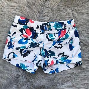 J. Crew Floral Shorts